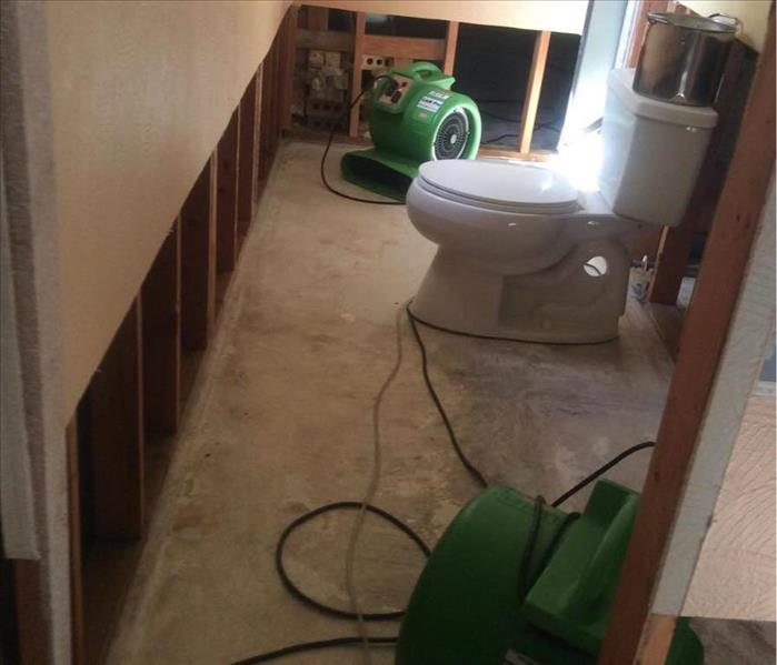 Water Damage in Longview, Texas After